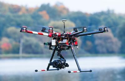 Аэросъёмка с мультикоптера